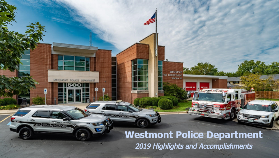 Westmont Police Department 2019 Highlights and Accomplishments