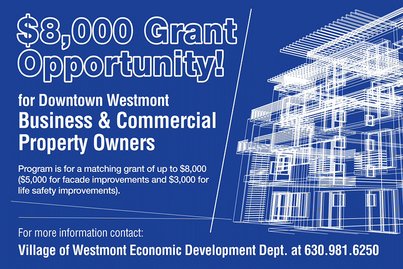 Downtown Development Grant Graphic