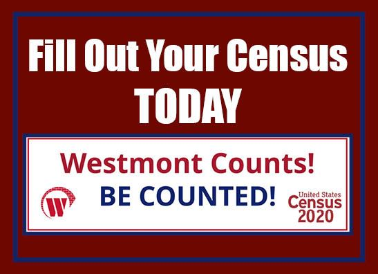 Fill Out you Census today WB