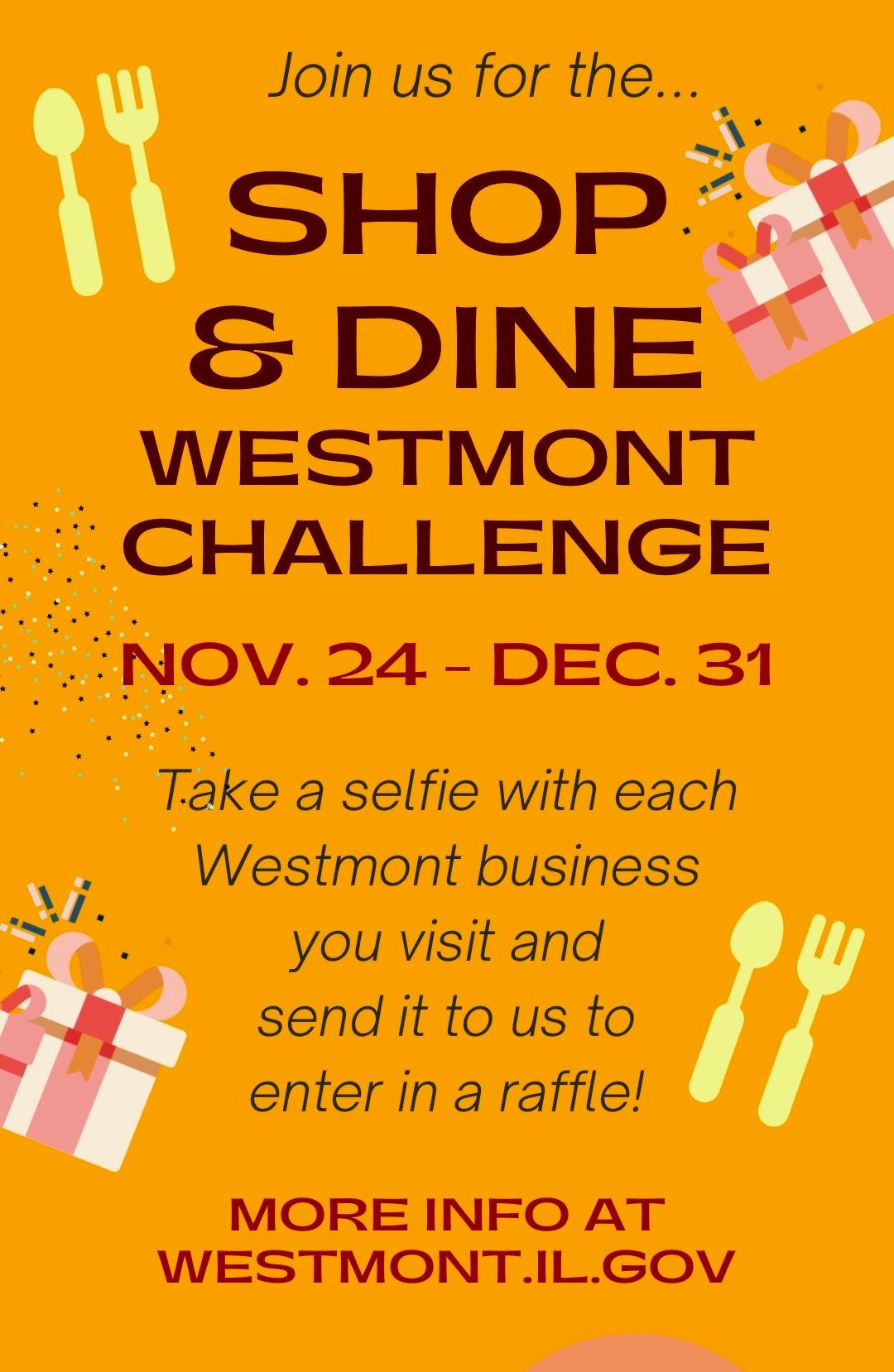 Shop and Dine Challenge