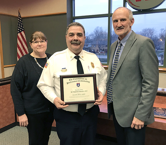 Chief Weiss CFO Recognition